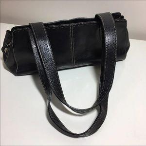 Black Leather FOSSIL Shoulder Bag Like New!